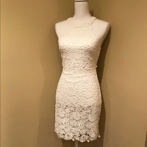 LuLus Lace Exclusive Dress